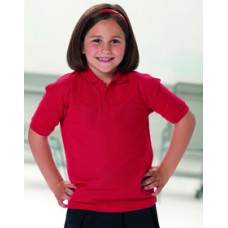 539B Russell Childrens Classic Polycotton Polo